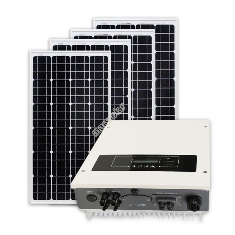 Solar Power Installation Company CE ROHS 1000W On Grid Solar Power Station