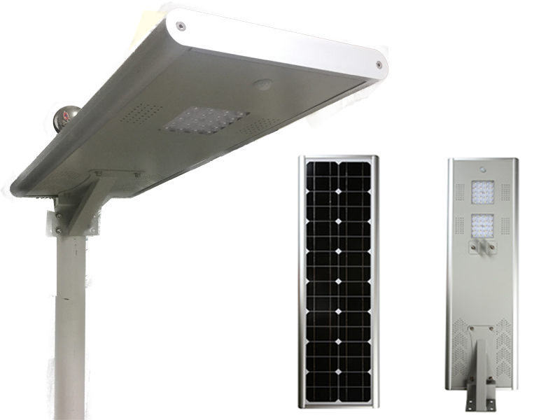 Integrated Solar Street Light Manufacturer 30W Solar Powered Lights
