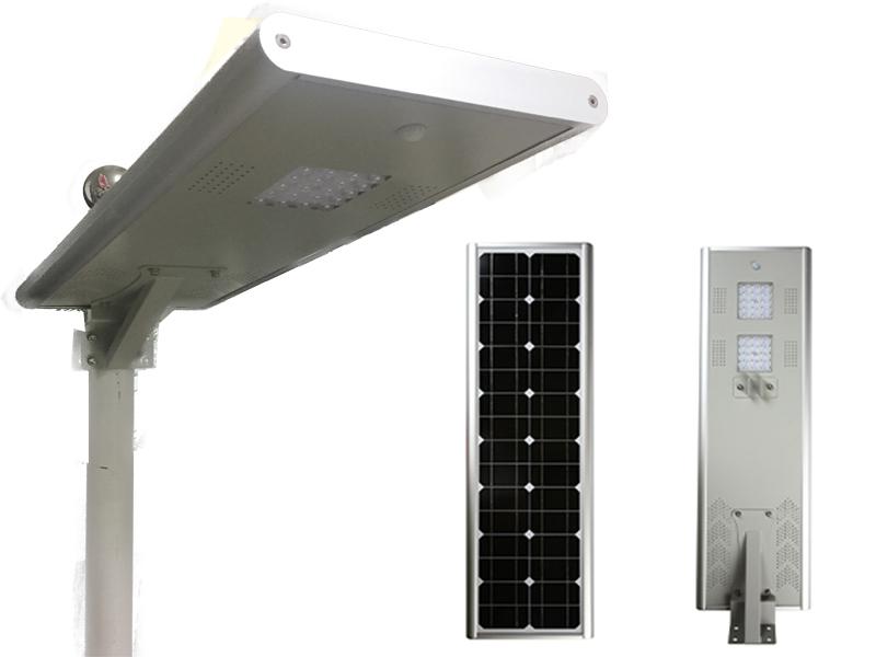 solar street light project