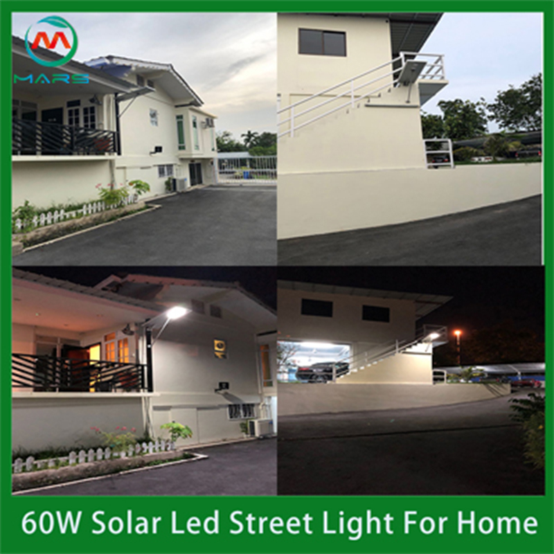 Solar Powered Outside Pole Light Manufacturers