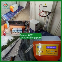 Solar Power System Manufacturers 10KW Solar System For Home Price