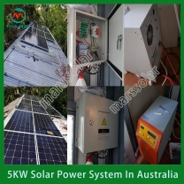 Solar System Manufacturer 5KW On Grid Solar Inverter With Battery Backup