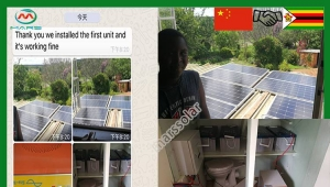 Chinese company invests in Zimbabwe solar panel battery charger kit factory