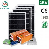 Factory Direct Solar Energy Powered 2KW Solar Power For Home