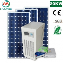 Chinese Solar Manufacturers 10 Years Warranty 20KW Solar Power Panels System