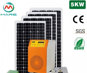 Solar Power System Manufacturing 5KW Solar Systems For Home Cost