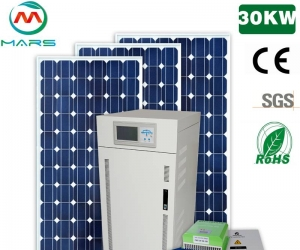 Off Grid 30KW Solar Power System Price