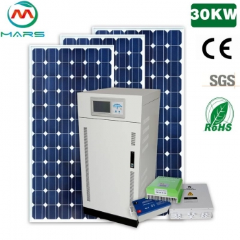 Strong Ability 30KW Leading Solar Panels System Manufacturers For Sale