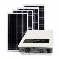 Solar Power Installation Company CE ROHS 1000W On Grid Solar Power Station