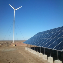 High Efficiency 1KW Wind And Solar Power System