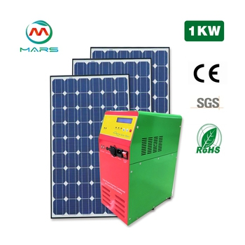 1000W 110V 120V 220V 230V AC all in one solar power for home