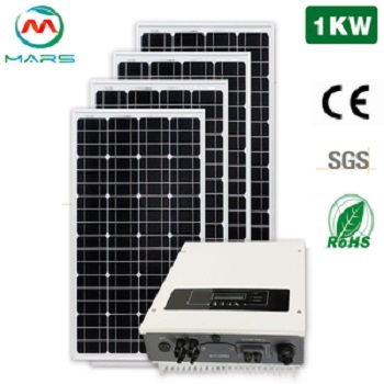 CE ROHS Certification 10Years Warranty 1000W On Grid Solar Power Station