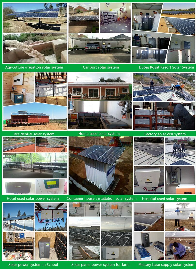 Solar System Manufacturer 500W Solar Electricity To Power One Room Apartment