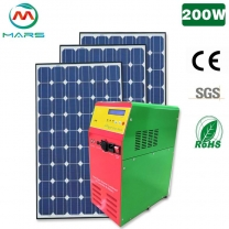 Moveable 200W Solar Kit Power Home System
