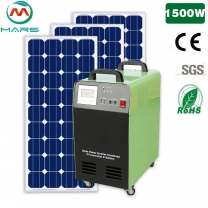 Solar Power System Supplier Portable Solar Panel And Battery Kit 1500W