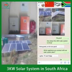 Solar System Manufacturer 3KW Off Grid Solar System Kit South Africa