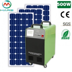 Solar System Manufacturer 500W Home Solar Power Light System South Africa