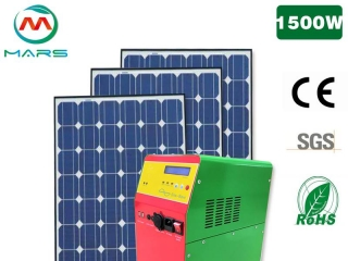 How Mars create value for customers in residential solar panel kits business?