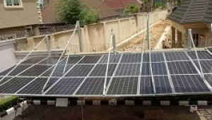 8KW Solar Powered Generator Carport Project In Nigeria