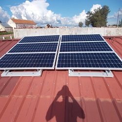 6KW On grid solar electricity in Sri Lanka