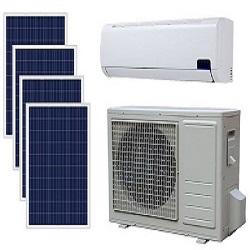 Solar air conditioner system in Singapore