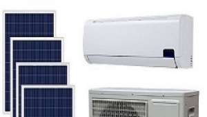 Solar air conditioner system in Singapore