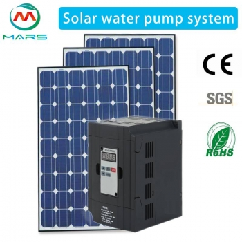 Low Cost High Efficiency 90HP/45KW Solar Pumping System