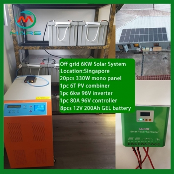Complete Unit 6KW Best Off Grid Solar System