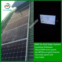 Solar System Manufacturer 3000W Grid Tie Systems For Homes