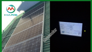 How does the selection of solar power kits for home use inverter ?