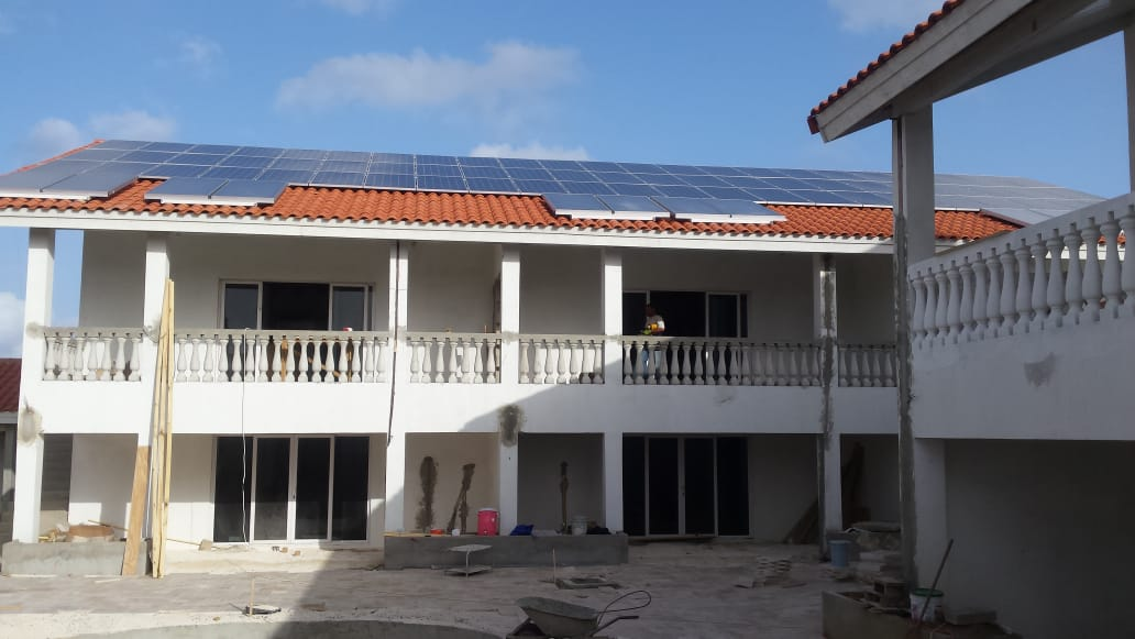 80KW Residentials Solar Energy Systems In Aruba
