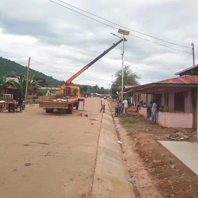 Solar Powered Street Lights In Tanzania
