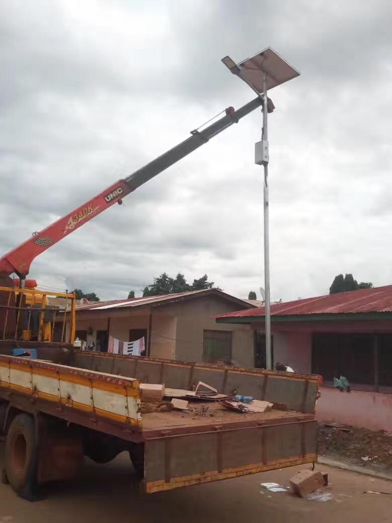 Solar Powered Yard Lights