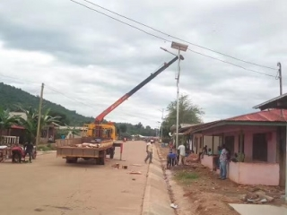 Solar Powered Street Lights In Tanzania