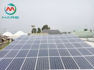 What are the difference install ways for pv panels?