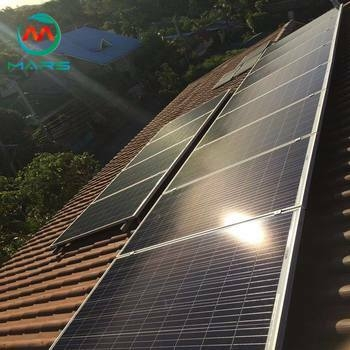 Solar Products Manufacturers 10000W Rooftop Solar Panels For House