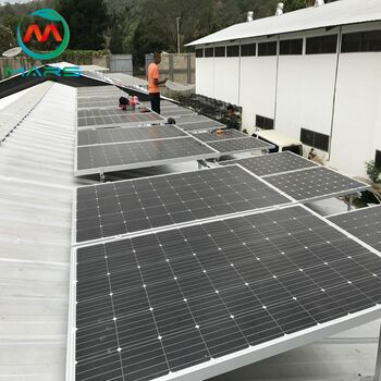 Where is the household solar panel and battery kit market in 2019?