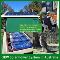 Solar System Manufacturer 3KW On And Off Grid Solar System