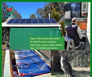 Solar Power System Manufacturers 10KW Off Grid Solar Panel Kits For Home