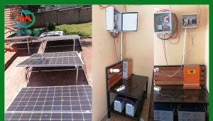 The first solar inverter kit plant in East Africa was completed