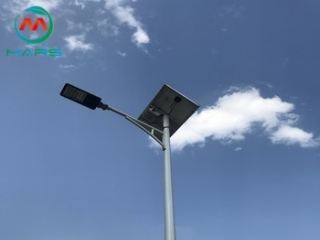 Market prospects for solar street lighting system