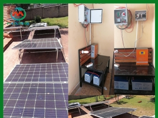 3KW Solar Energy Systems In Uganda