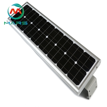 Solar Powered Light Post