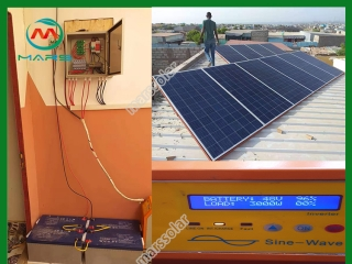 3KW Home Solar Power System In Djibouti