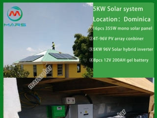 Why solar power electricity system use gel battery?