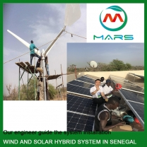 3KW Combined Solar And Wind Energy System