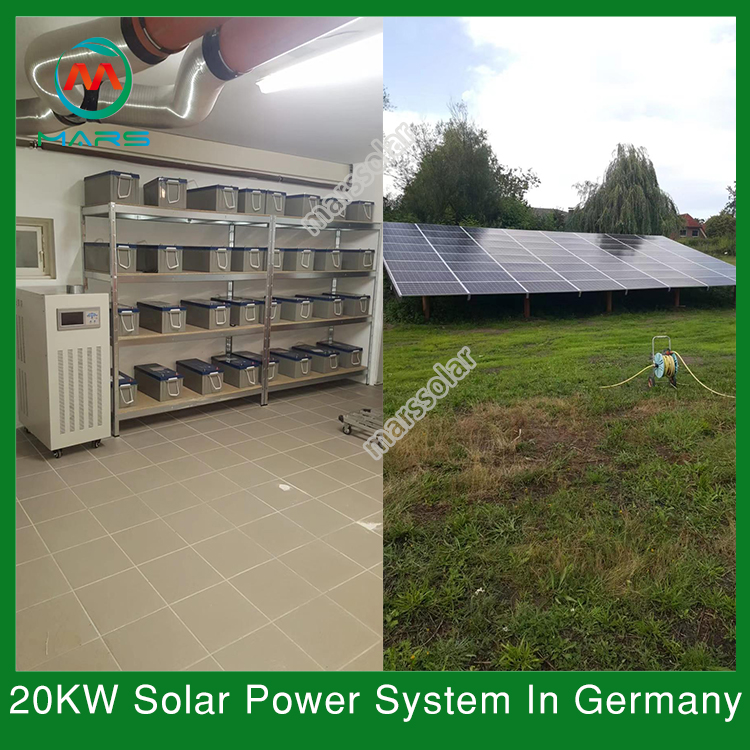 20KW Off Grid PV System In Germany