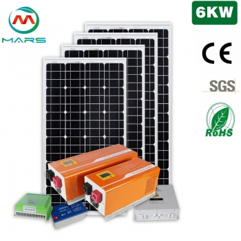 Solar Products Suppliers 6000W Complete Home Solar Package