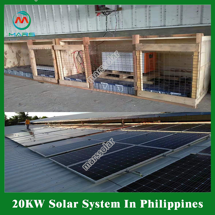 20KW Off Grid Solar Power Plant In Philippines