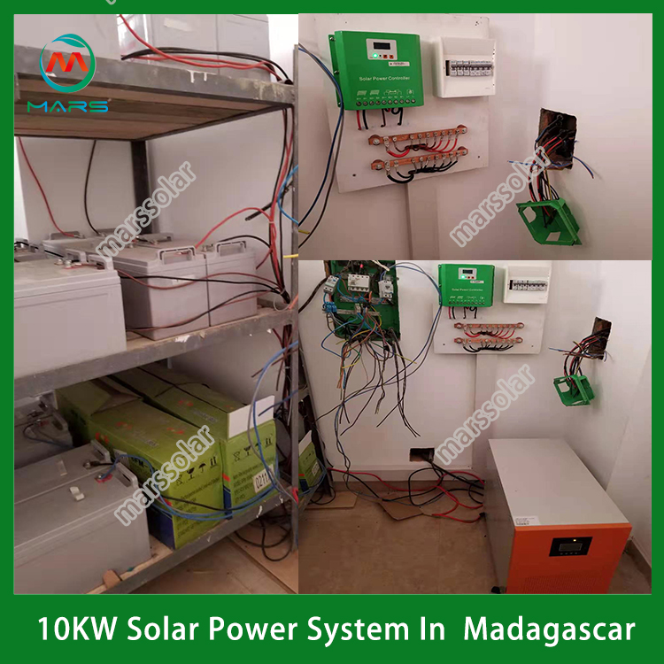 10KW Solar Kit For Home In Madagascar